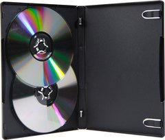 Blair Packaging VERSA Keep 2-4 Disc CD/DVD Case