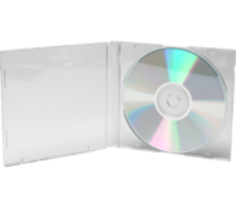 CD Slimline Jewel Case- Clear