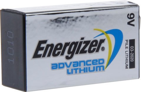Ultimate Lithium 9V (1-pack)