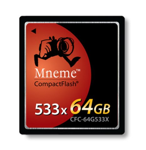 Shining Technology Mneme 64G Compact Flash Card (533X)
