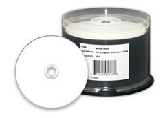 Microboards 6x BD-R White Thermal Hub Printable - 50 Discs