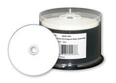 Microboards 4x BD-R White Inkjet Hub Printable - 50 Discs