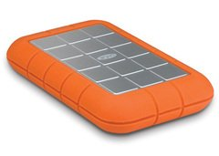 LaCie Rugged Triple Hard Drive (USB 3.0 and FW800)- 1TB