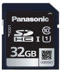 Panasonic 32GB SDB Series SDHC Card - UHS-1