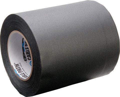 Pro-Tapes Cable Path Tape - Black - 6 Inch