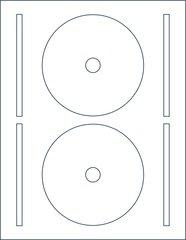 Ace 61460B CD DVD Blu-ray Label