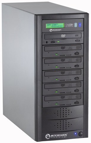 Microboards CopyWriter Pro CD/DVD Duplicator PRM PRO-516