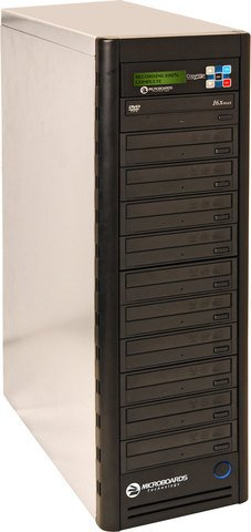 Microboards Daisy-Chainable CD/DVD Duplicator PRM NET-10