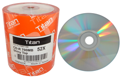 CD-R Shiny Silver Thermal Printable - 100 Discs