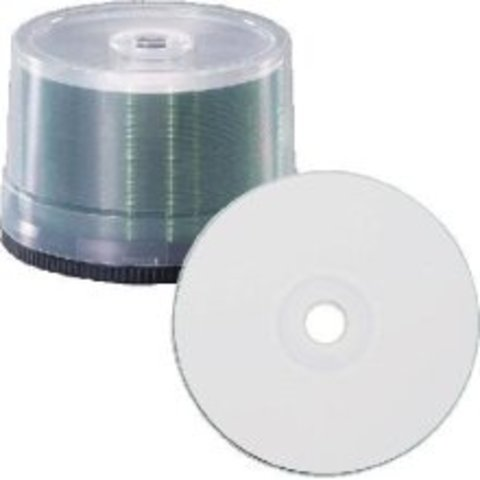 8x DVD-R White Thermal Printable - 50 Discs