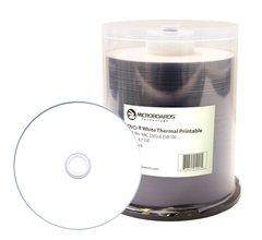 Microboards 16x DVD-R White Thermal Printable - 100 Discs