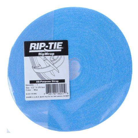 Rip-Tie RipWrap - Blue 150 Feet -