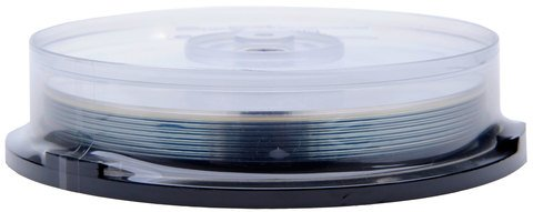 Microboards 6x BD-R DL Dual Layer White Inkjet Hub Printable - 10 Discs