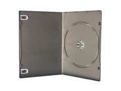 Evergreen 7mm Single DVD Case - Black