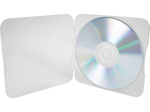 Evergreen Trim Pack Clear CD/DVD Case
