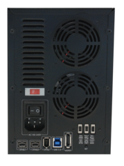 Avastor XD5 Professional Desktop RAID - 4TB