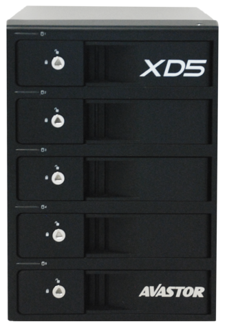 Avastor XD5 Professional Desktop RAID - 5TB