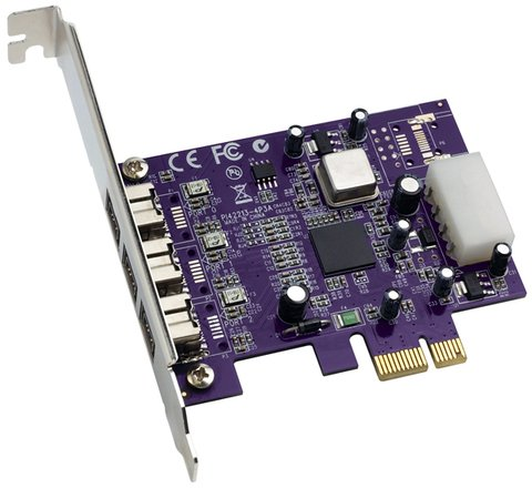 Sonnet Allegro FW800 PCIe Card - 3 ports