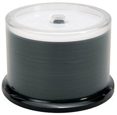 Moser Baer 52x CD-R White Thermal Printable - 50 Discs