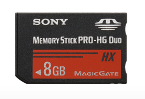 Sony 8GB Memory Stick PRO-HG Duo