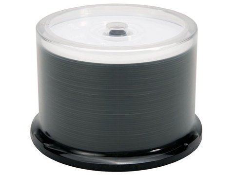 Moser Baer 16x DVD-R White Thermal Printable - 50 Discs