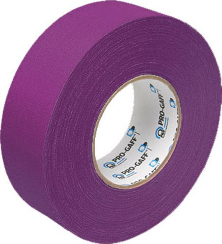 Pro Tapes Pro Gaffer 2 Inch Purple