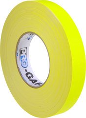 Pro-Tapes Pro-Gaffer 1 Inch Fluorescent Yellow