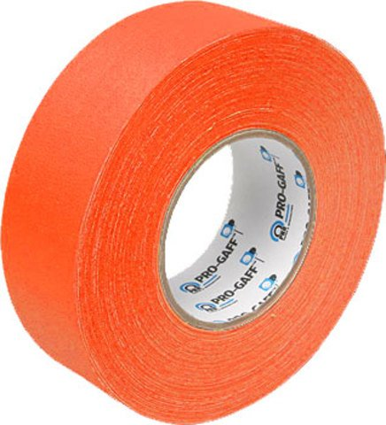 Pro-Tapes Pro-Gaffer 2 Inch Fluorescent Orange