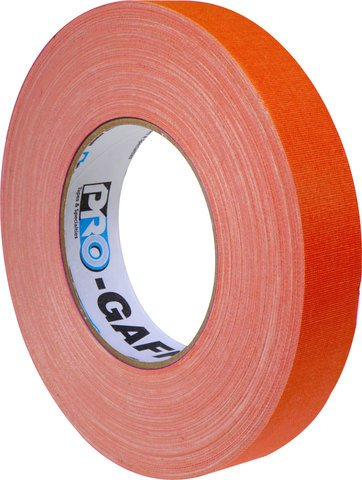 Pro-Tapes Pro-Gaffers 1 Inch Fluorescent Orange