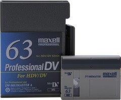 Maxell DV-M63 Master Professional DV