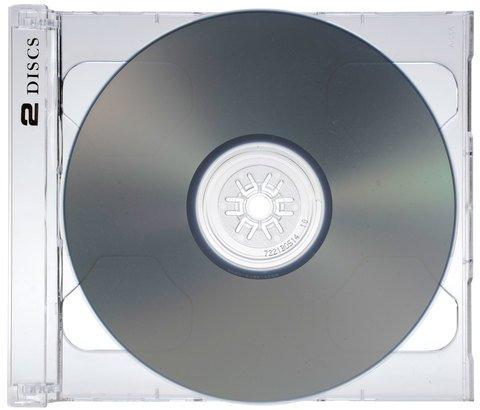 Evergreen 2-Disc Jewel Case SmartTray