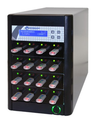Microboards Copywriter Flash USB Duplicator - 15 Recorders CFD-USB-15