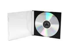 5.2mm CD/DVD Slimline Jewel Case - Black