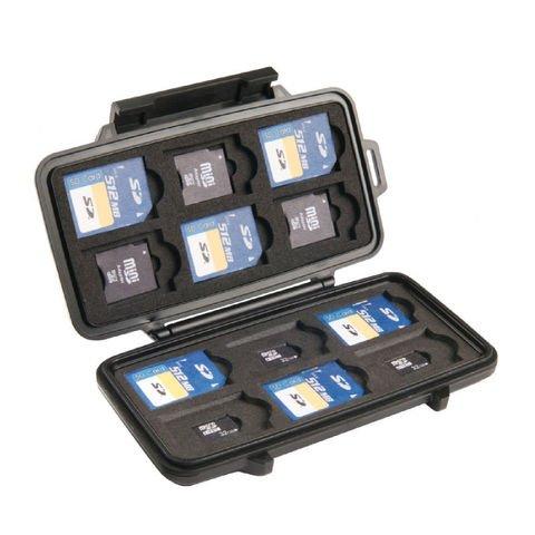 Pelican SD/microSD/miniSD Memory Card Case - 0915
