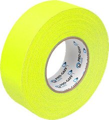 Pro-Tapes Pro-Gaffer 2 Inch Fluorescent Yellow