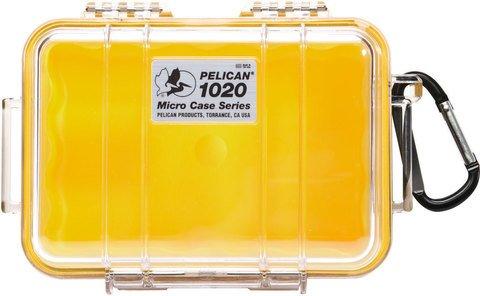 Pelican 1020 Micro Case - Yellow
