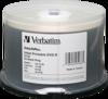 Verbatim 8x DVD-R Silver Inkjet Printable - 50 Discs