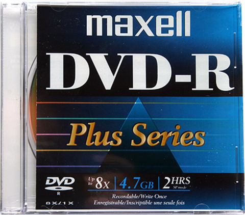 8x DVD-R Logo Branded - 1 Disc