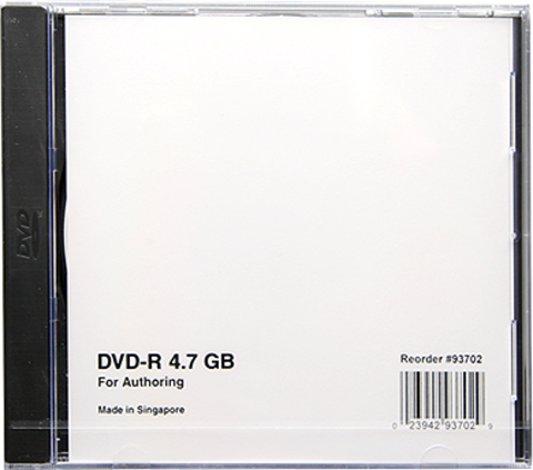 Verbatim DVD-R White Authoring