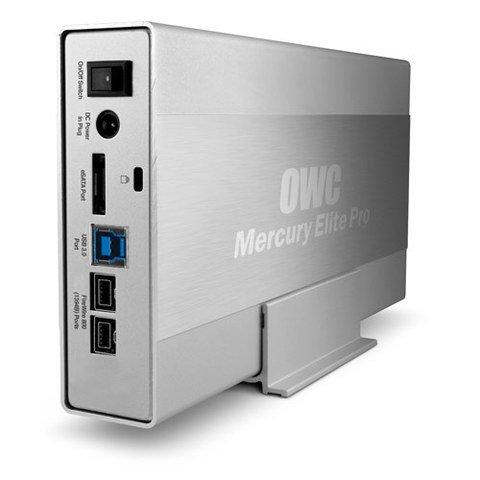 OWC  4TB Mercury Elite Pro USB 3.0/FireWire 800/eSATA
