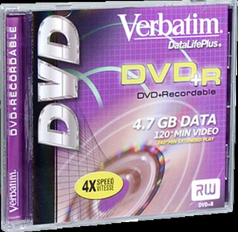 Verbatim DVD+R Logo Branded 1 Disc