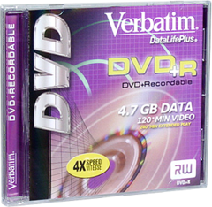 DVD+R Logo Branded 1 Disc