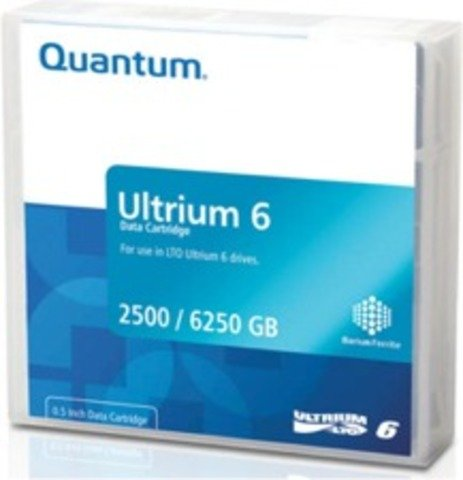 Quantum LTO Ultrium 6 Tape - MR-L6MQN-03