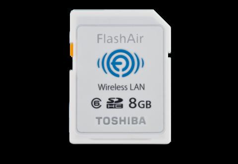 8GB FlashAir Wireless SD Card Class 6
