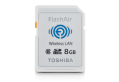 Toshiba 8GB FlashAir Wireless SD Card Class 6