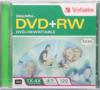 Verbatim 4x DVD+RW Logo Branded - 1 Disc