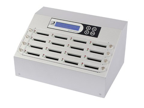16-Port Intelligent 9 Series Compact Flash Duplicator - CF916S