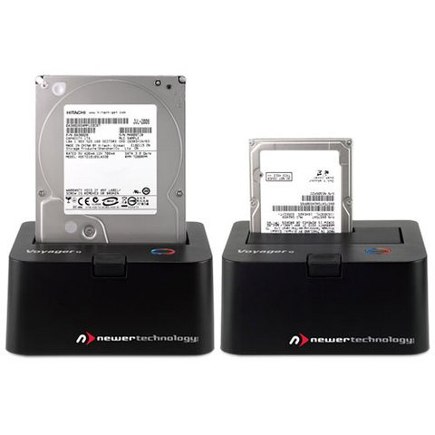NewerTech Voyager Q - Quad Interface SATA I/II/III Drive Docking Solution