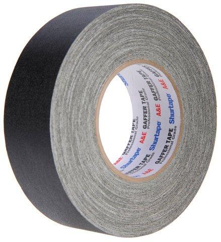 Pro-Tapes Shurtape Professional Grade Gaffer's Tape - 2 Inch Black