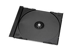 Evergreen Black CD Tray